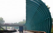 Highway Noise Barriers on the A22 Brenner